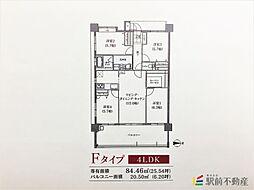 ネオス柳川城下の邸[207号室]の間取り