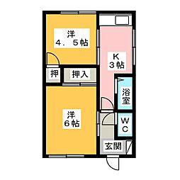 [一戸建] 三重県鈴鹿市野辺2丁目 の賃貸【/】の間取り