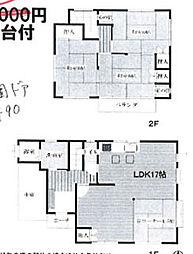 [一戸建] 埼玉県加須市愛宕1丁目 の賃貸【/】の間取り
