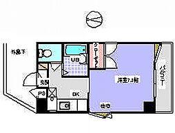 宮城県仙台市太白区中田3丁目の賃貸マンションの間取り
