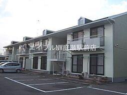 岡山県都窪郡早島町前潟の賃貸アパートの外観