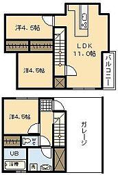 (新築)Ko Olina Yoshimura[C-3号室]の間取り