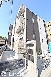 愛知県名古屋市北区清水5丁目の賃貸アパートの外観