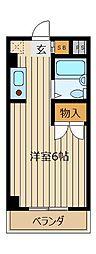 クレスト志木[1階]の間取り