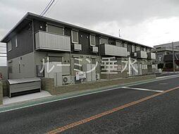 兵庫県三木市志染町広野5丁目の賃貸アパートの外観