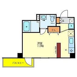 TANAKAビル[6階]の間取り