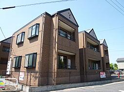 岡山県倉敷市加須山の賃貸アパートの外観