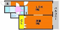 マ・ベル・エトワール[3階]の間取り