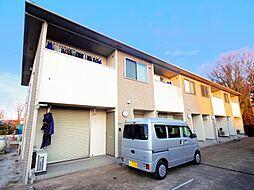 東京都東久留米市柳窪4丁目の賃貸アパートの外観