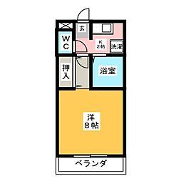 CORE HOUSE[7階]の間取り
