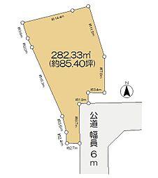 佐倉市城 約85坪 売地