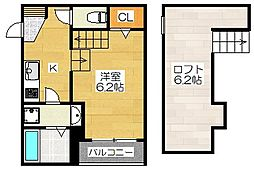 MRK上呉服町[2階]の間取り