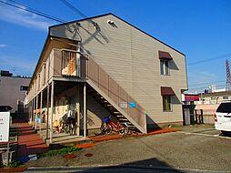 大阪府豊中市上津島2丁目の賃貸アパートの外観