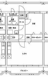 i-serene大橋[202号室]の間取り