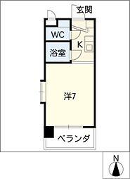 OASES MIZUHO[2階]の間取り