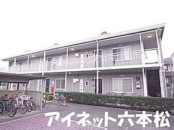 福岡県福岡市城南区東油山2丁目の賃貸アパートの外観