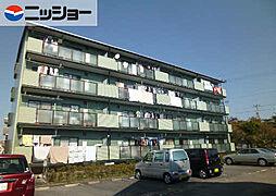愛知県岩倉市下本町城址の賃貸マンションの外観