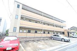 愛知県日進市岩崎町野田の賃貸アパートの外観