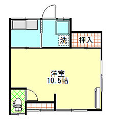 [一戸建] 茨城県日立市大久保町5丁目 の賃貸【/】の間取り