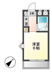 春里第一ビル[3階]の間取り