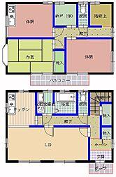 [一戸建] 茨城県水戸市見和3丁目 の賃貸【茨城県 / 水戸市】の間取り