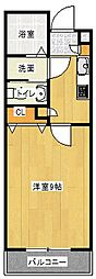 Osaka Metro谷町線 太子橋今市駅 徒歩4分の賃貸マンション 5階1Kの間取り