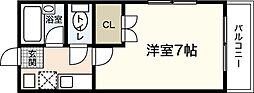戎ビル[1階]の間取り