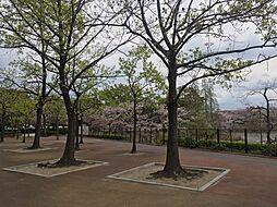 目の前には杁ヶ池公園があります 徒歩 約1分(約80m)