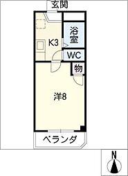 COMFORT96[2階]の間取り