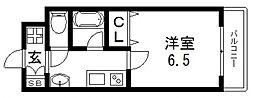 オーシャン森之宮[702号室号室]の間取り