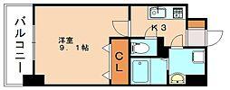 仮)弥永5丁目マンション[6階]の間取り