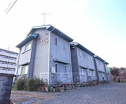 京都府相楽郡精華町大字菱田の賃貸アパートの外観