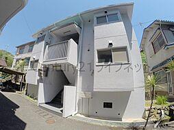 大阪府池田市城山町の賃貸マンションの外観