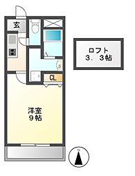 M5ELMundo[3階]の間取り