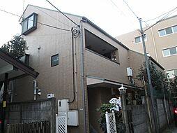 東京都目黒区碑文谷2丁目の賃貸マンションの外観