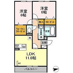 仮)D-room戸田[303号室]の間取り