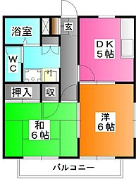 パナホーム上十条3[2階]の間取り