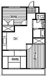 葉山マンション[603号室]の間取り