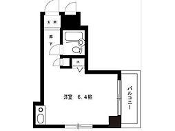ライオンズマンション八王子第2[6階]の間取り