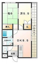 サンシャイン キタニ[3階]の間取り