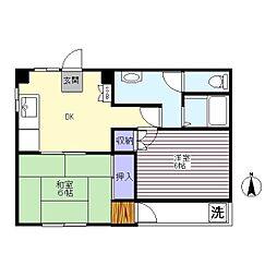 グローバルマンション[3階]の間取り
