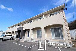 愛知県豊田市久岡町4丁目の賃貸アパートの外観