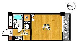 エクシード高木瀬[301号室]の間取り