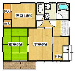 [一戸建] 静岡県三島市梅名 の賃貸【/】の間取り