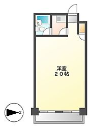 アーバン佐々木36[2階]の間取り