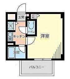 メゾンドソネット[2階]の間取り
