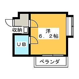 ロードパレス[5階]の間取り