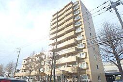 北海道札幌市東区北三十三条東13丁目の賃貸マンションの外観