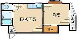 咲良マンション[4階]の間取り