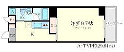 大阪府茨木市彩都あさぎ1丁目の賃貸マンションの間取り